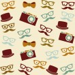 Hipster - Stock Vector