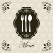Menu card — Stock Vector #24565367