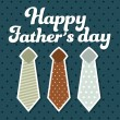 Fathers day — Vector de stock #24590407