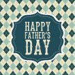 Fathers day — Vector de stock #24593843