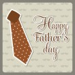 Stockvector : Fathers day