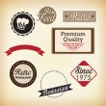 Retro Labels — Stock Vector #24761475