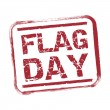 Flag day — Stock Vector