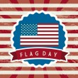 Flag day — Stock Vector #24886391