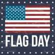 Flag day — Image vectorielle
