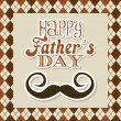 Fathers day — Vector de stock #24887293