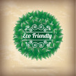 Royalty-Free Stock Vector Image: Eco friendly