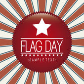 Flag day — Stock Vector