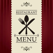 Restaurant menu — Stock Vector