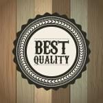 Best quality — Stock Vector