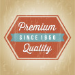 Premium quality - Stock Vector