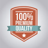 Premium quality — Stock Vector