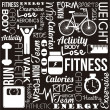 Royalty-Free Stock Vector Image: Fitness vector