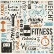 Fitness vector — Stock vektor #25212949