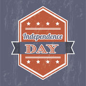 Den nezávislosti — Stock vektor