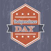 Självständighetsdagen — Stockvektor