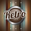 Stockvektor : Retro