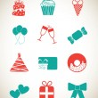 Birthday icons — Stock Vector #25401199