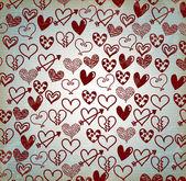 Srdce tažené — Stock vektor