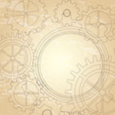 Gear background — Stock Vector