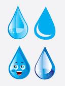 Gota de chuva — Vetorial Stock