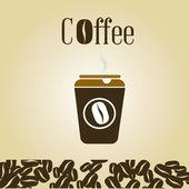 Kaffee — Stockvektor