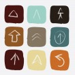 Arrow icons  — Stock Vector #25470359