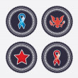 Patches — Stockvector  #25471839