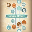 Social media — Vetorial Stock #25477271