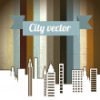 City vector — Stock Vector