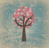 Sentito albero — Vettoriale Stock