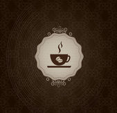 コーヒー フレーム — ストックベクタ