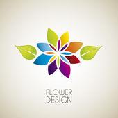 Flower design — Stock Vector