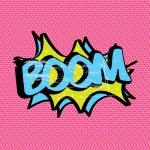 Boom pink — Stock Vector #25605587