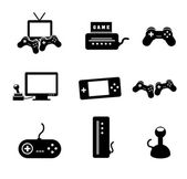 Video games — Vector de stock