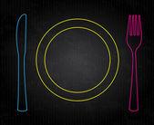 Food design — Stock Vector