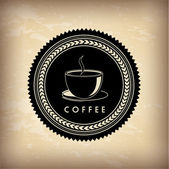 Frame coffee — Stock Vector