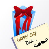 Happy day dad — Vector de stock