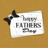 Frame happy fathers day — Stock Vector