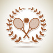Tennis championship — Stock Vector #25817393