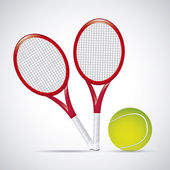 Rackets design — Stock Vector