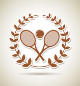 Tennis championship — Stock Vector