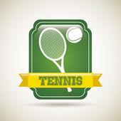 Tennis frame — Stock Vector