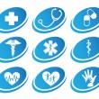Medical icons — Stock Vector #25859593