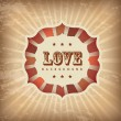 Royalty-Free Stock Imagen vectorial: Frame love