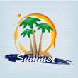 Stock Vector: Summer design