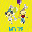 Royalty-Free Stock Vector Image: Party time