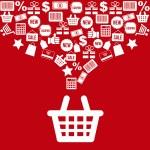 Shopping basket — Stock Vector #26110483