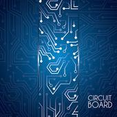 Circuit board deisgn — Stock Vector