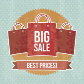 Big sale — Stock Vector